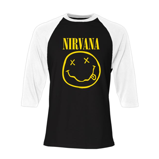 Nirvana Smiley Raglan