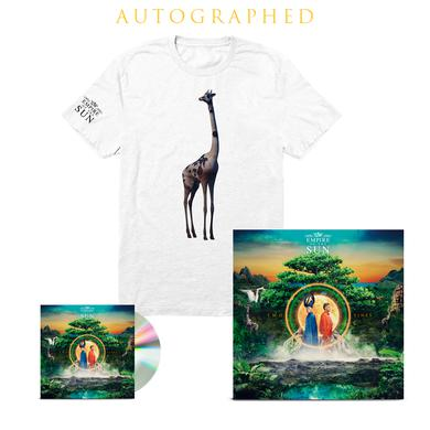 Empire Of The Sun Two Vines CD + T-Shirt + Autographed Lithograph