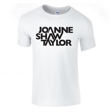 Joanne Shaw Taylor White Logo T-Shirt