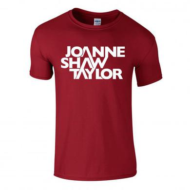 Joanne Shaw Taylor Red Logo T-Shirt