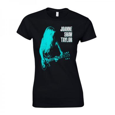 Joanne Shaw Taylor Ladies Green-Blue Guitar T-Shirt