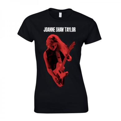 Joanne Shaw Taylor Ladies Red Photo T-Shirt