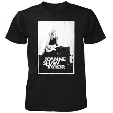 Joanne Shaw Taylor White Wall Black T-Shirt