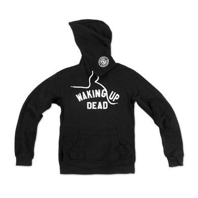 Mike Gordon Waking Up Dead Pullover Hoodie on Black