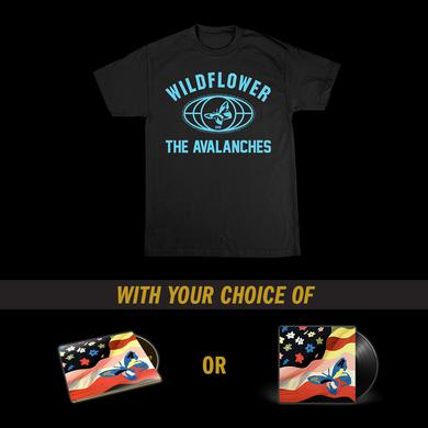 The Avalanches Wildflower T-Shirt + Music Bundle