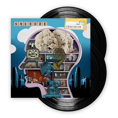 Squeeze The Knoweldge Double Vinyl LP Double Heavyweight LP