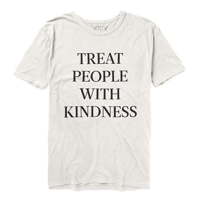 Harry Styles Treat People With Kindness Tee (White)