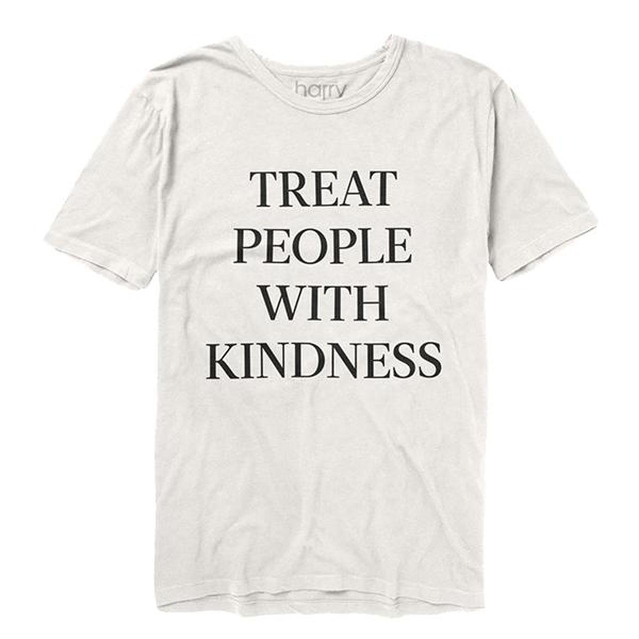 8b8cf18a7d Harry Styles. Treat People With Kindness Tee (White)