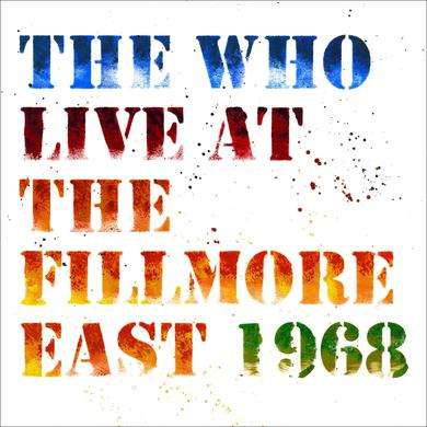 The Who Live at the Fillmore East 2CD