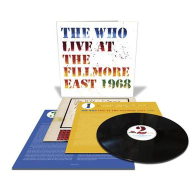 The Who Live at the Fillmore East 3LP