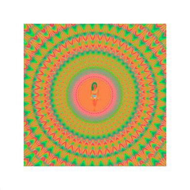 Jhené Aiko Blacklight Rainbow Litho + Digital Album