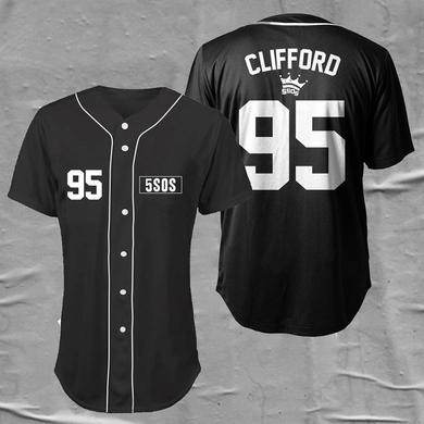 5 Seconds Of Summer Baseball Jersey (CLIFFORD)