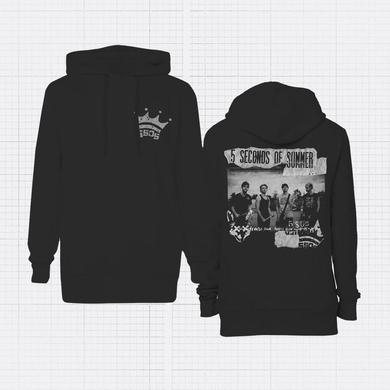 5 Seconds Of Summer Backstage Crown Hoodie