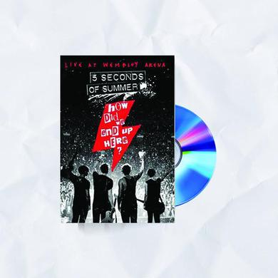 5 Seconds Of Summer How Did We End Up Here? Blu-Ray