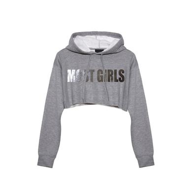 Hailee Steinfeld Most Girls Grey Hoodie