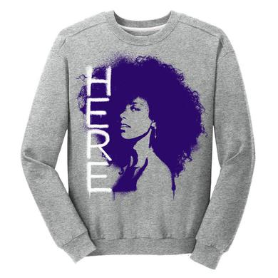 Alicia Keys Here Spray Paint Crewneck