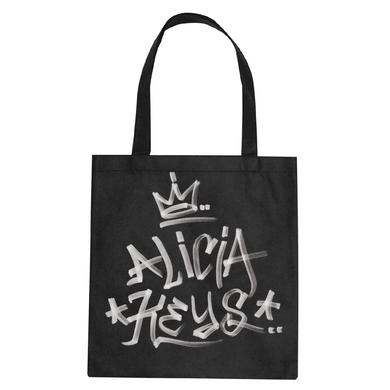 Alicia Keys AK Graffiti Tote Bag