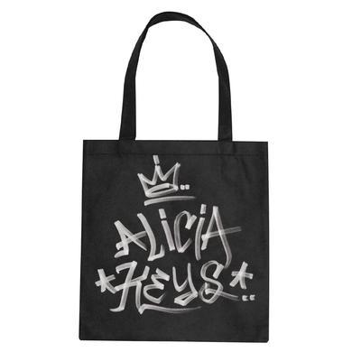 Alicia Keys AK Graffiti Tote Bag