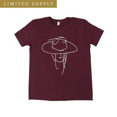 James Bay Hat Man Fall Maroon T-Shirt
