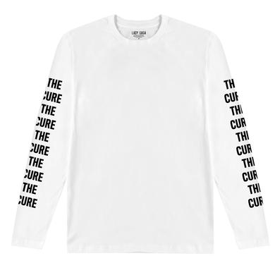 Lady Gaga THE CURE WHITE LONG SLEEVE T-SHIRT