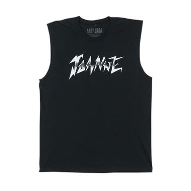 Lady Gaga JOANNE WORLD TOUR BLACK MUSCLE TANK
