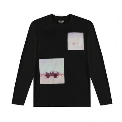 Lady Gaga POLAROID BLACK LONG SLEEVE T SHIRT
