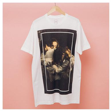 The 1975 White Group Photo T-shirt