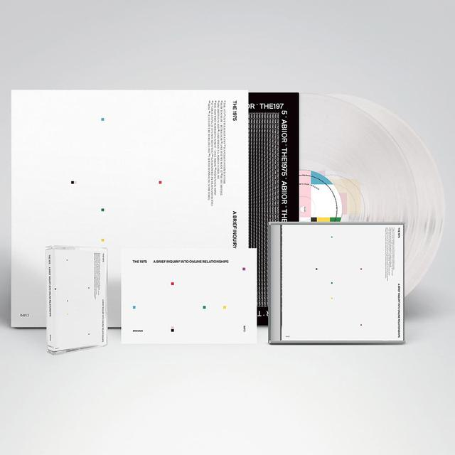 The 1975 A BRIEF INQUIRY INTO ONLINE RELATIONSHIPS AUTOGRAPHED MUSIC BUNDLE