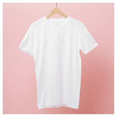 The 1975 White Embroidered T-Shirt
