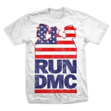 Run-Dmc Silhouette Flag Americana T-shirt