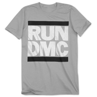 Run-Dmc Grey Logo T-Shirt