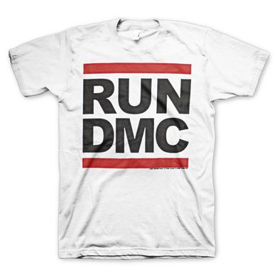 Run DMC Logo White T-Shirt
