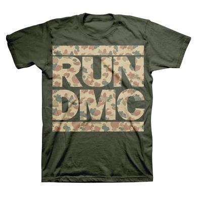 Run DMC Camo Logo T-Shirt