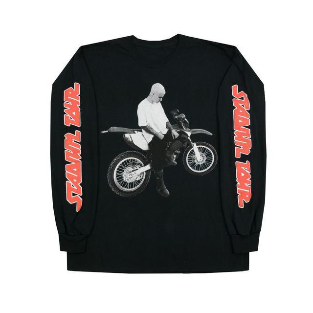 Justin Bieber Dirt Bike Long Sleeve T-shirt