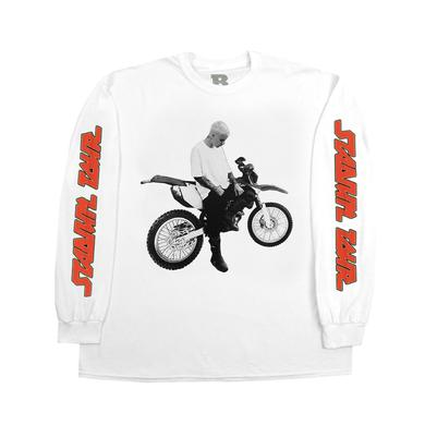 Justin Bieber Dirt Bike Long Sleeve T-shirt