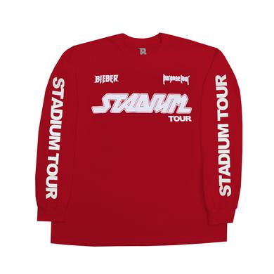 Justin Bieber Stadium Long Sleeve T-shirt