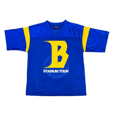 Justin Bieber STADIUM TOUR FOOTBALL JERSEY
