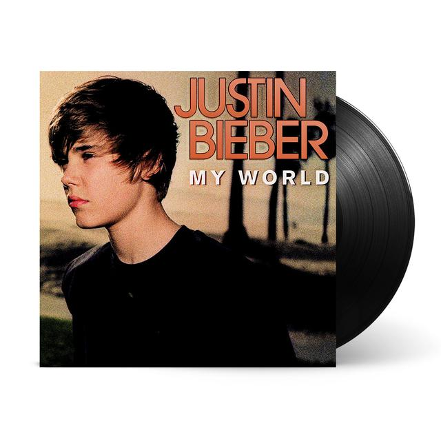 Justin Bieber My World LP (Vinyl)