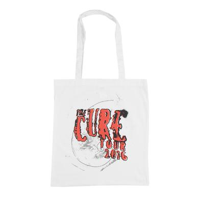 The Cure 2016 White Tour Logo Tote