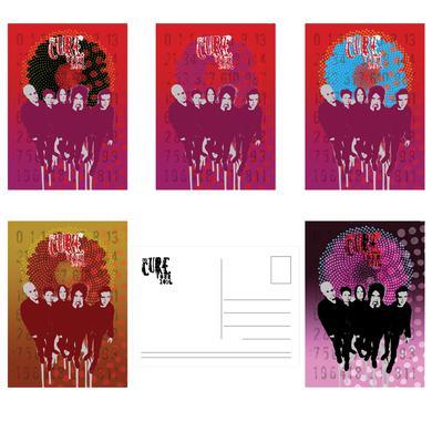 The Cure 2016 Tour Postcard Set
