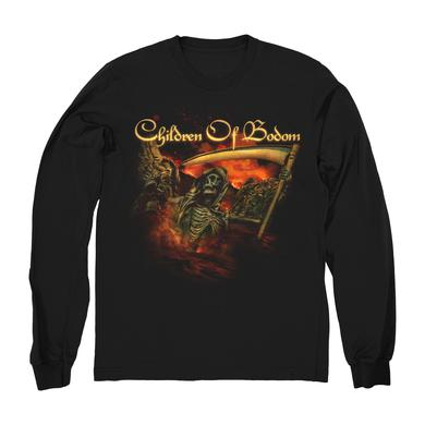 Children Of Bodom Pirate Skeleton Longsleeve Shirt