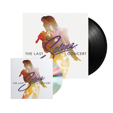 "Selena ""The Last Concert"" CD/DVD + Vinyl Bundle"
