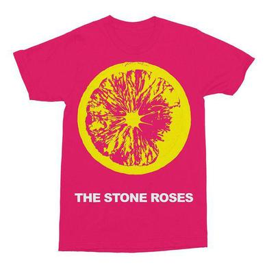 The Stone Roses PINK LEMON T-SHIRT