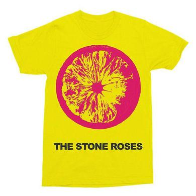 The Stone Roses YELLOW LEMON T-SHIRT