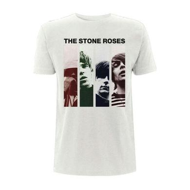 The Stone Roses PHOTO STRIPE T-SHIRT