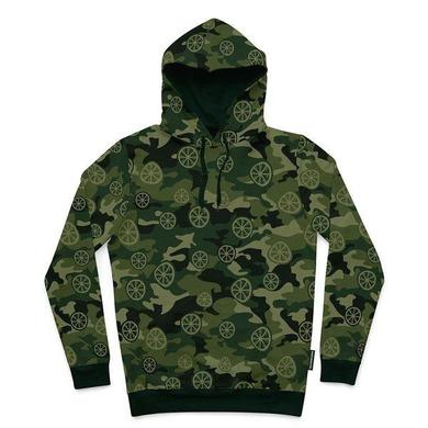 The Stone Roses CAMO HOODIE