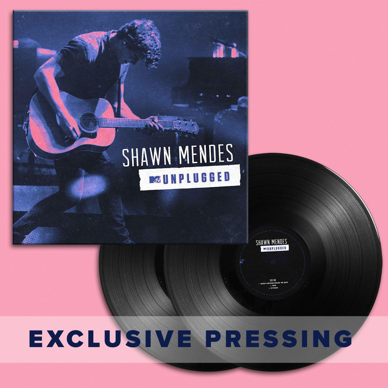 Shawn Mendes Unplugged Exclusive Double-LP (Vinyl)