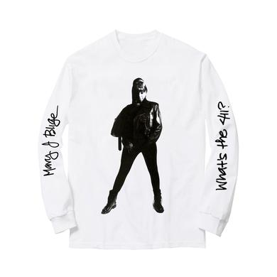 Mary J. Blige Stand Up White Longsleeve