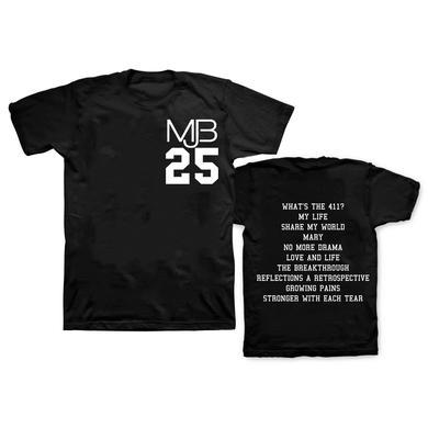 Mary J. Blige MJB 25 Year T-Shirt