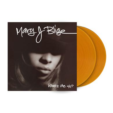 "Mary J. Blige ""What's The 411 (25th Anniversary)"" 2LP - Translucent Gold"